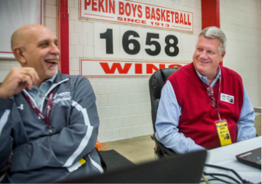 Pekin Insurance Holiday Tournament Remains in Tradition & Technologically Relevant